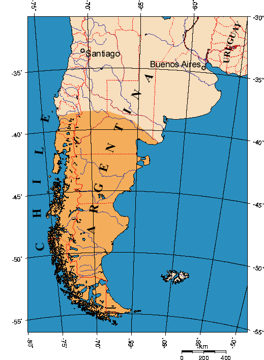 Patagonia Wikiwand - Argentina map mountains