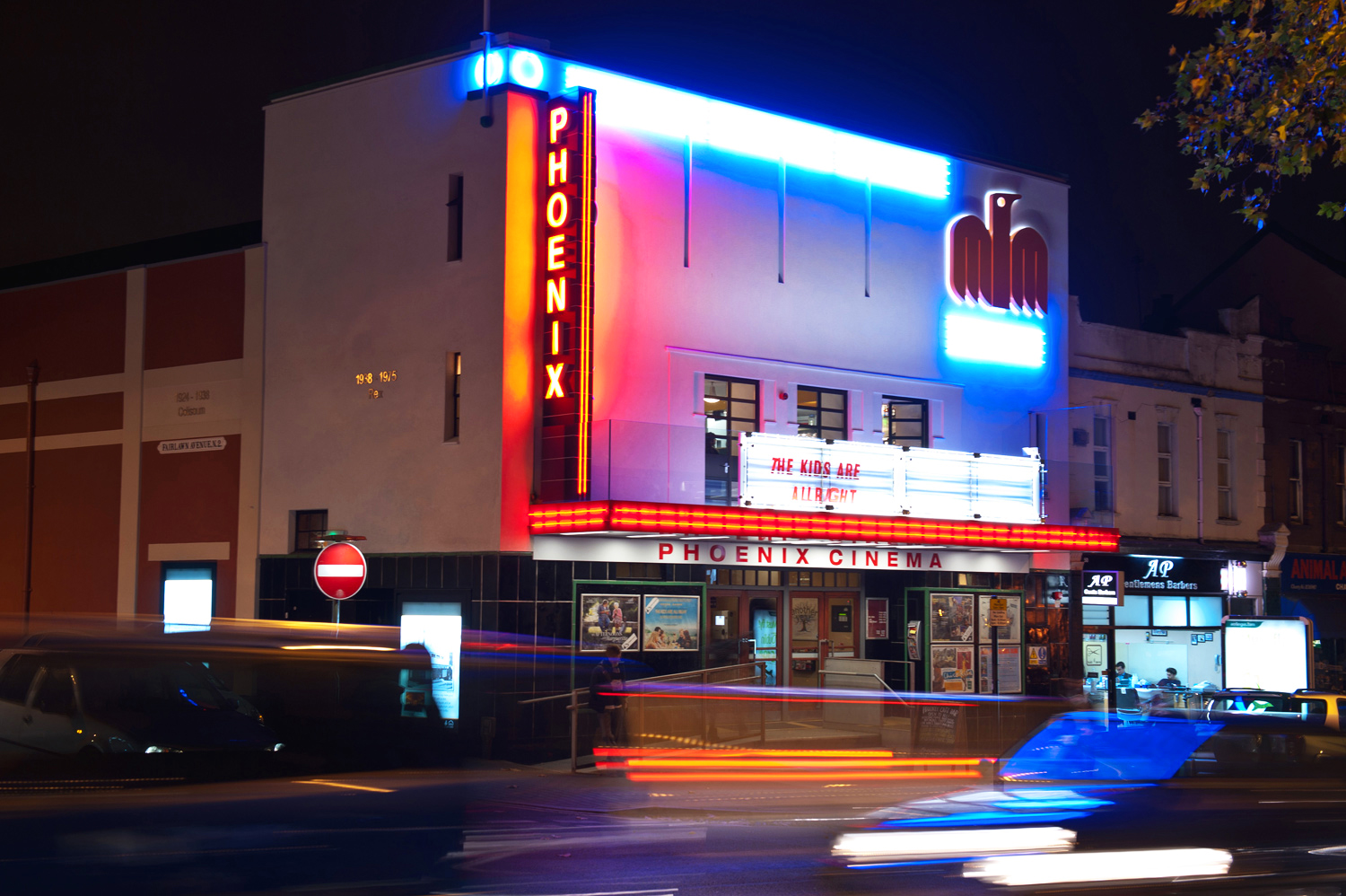 filephoenix cinema frontage at nightjpg wikimedia commons