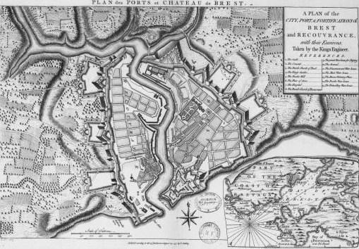 File:Plan de la ville, du château et des fortifications de Brest.jpg - Wikimedia Commons