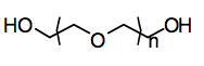 Polyethylene glycol chemical structure.png