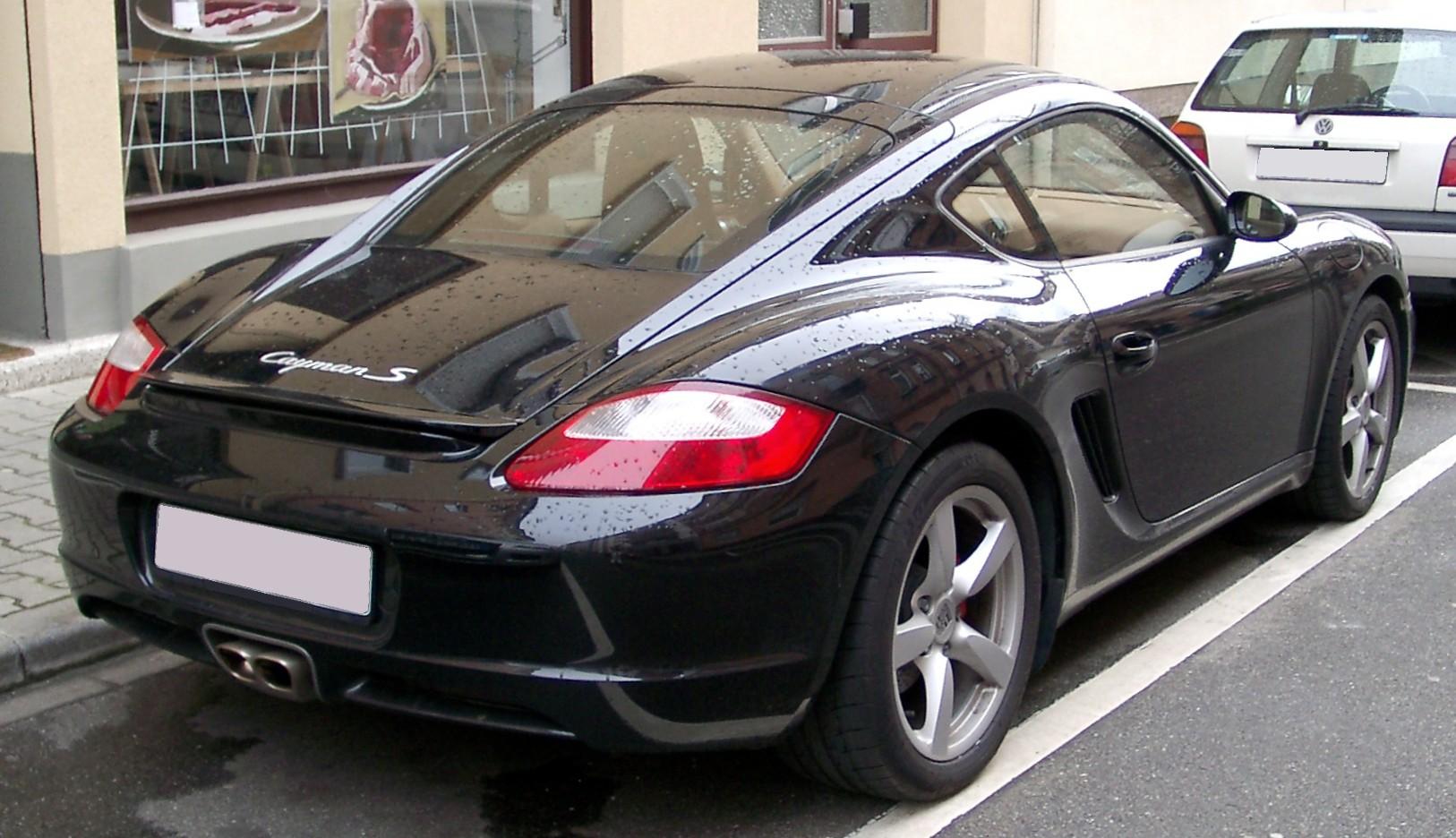 File Porsche Cayman Rear 20080320 Jpg Wikimedia Commons