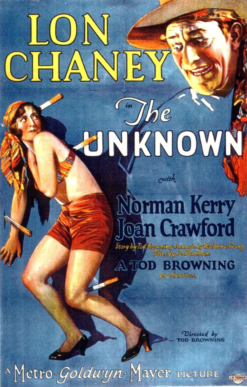 The Unknown 1927 Film Wikipedia