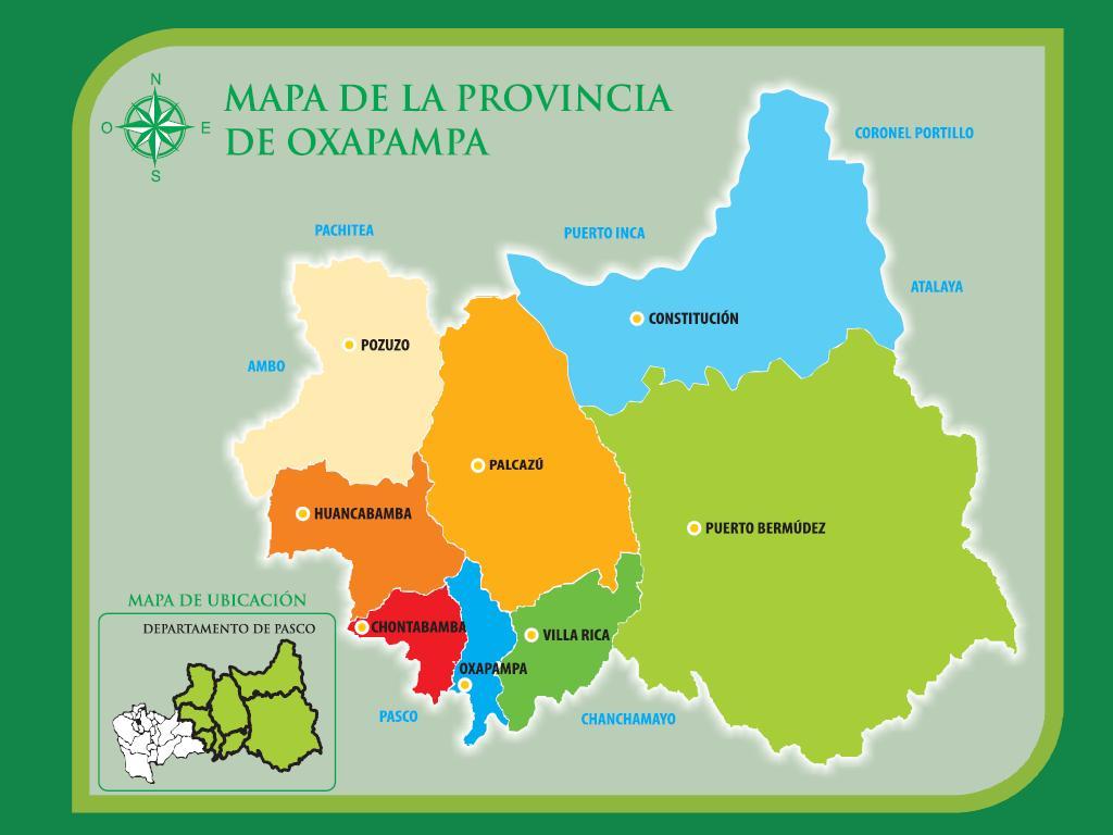Oxapampa Peru Map.Distrito De Constitucion Wikipedia La Enciclopedia Libre