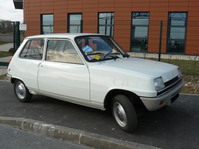 Fiat 500 Sport >> Renault 5 – Wikipedie