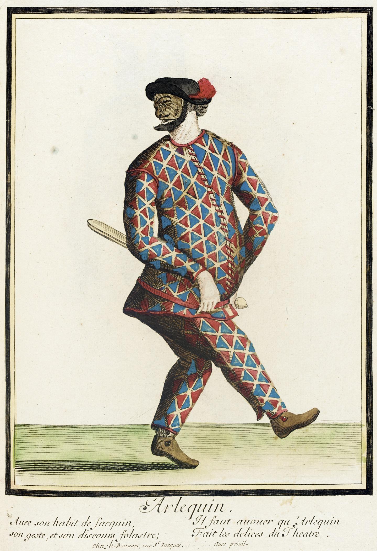 File:Recueil des modes de la cour de France, 'Arlequin ... X 23 Costume