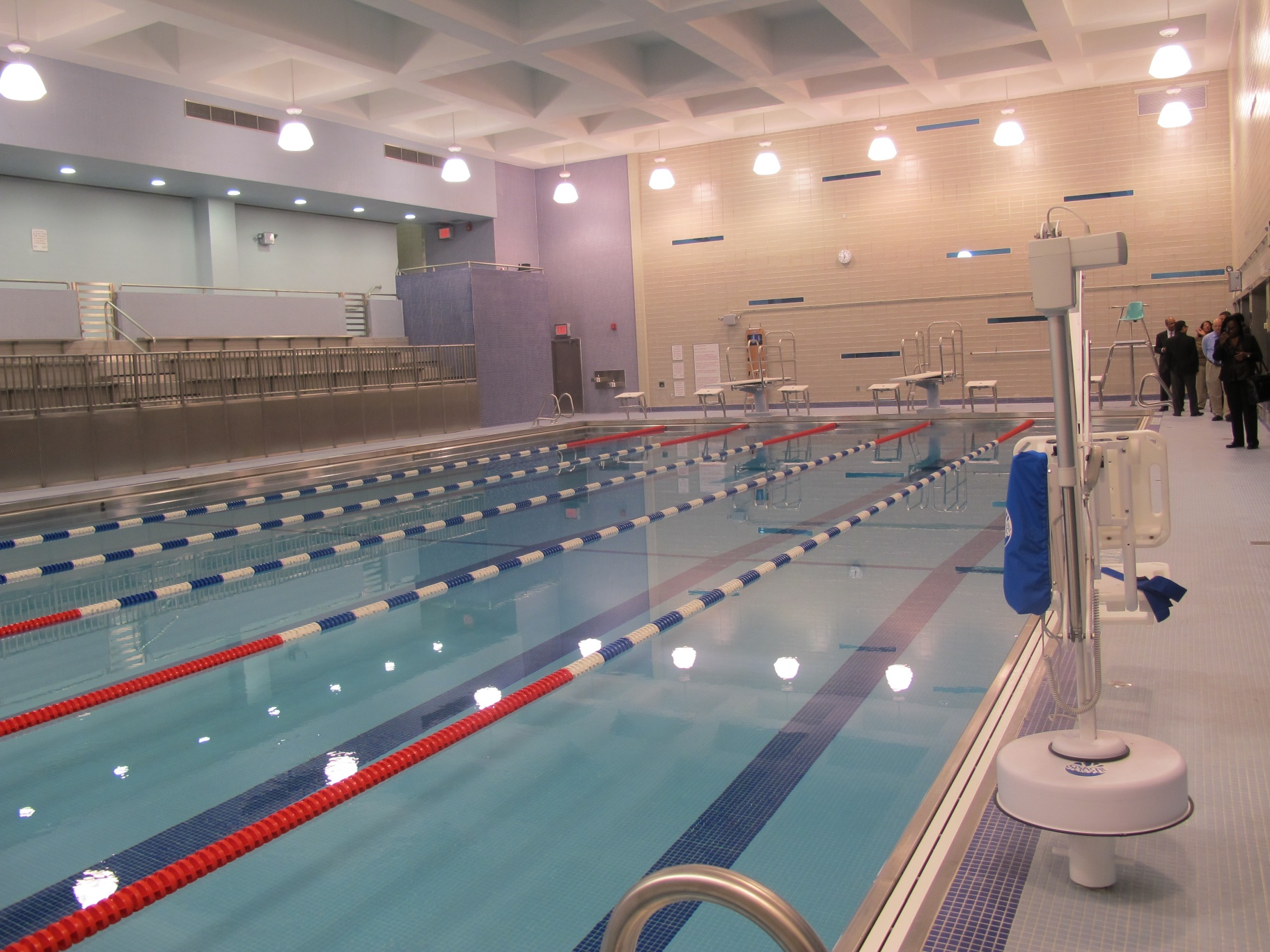 File Renovated Swimming Pool At Harry S Truman High Wikimedia Commons