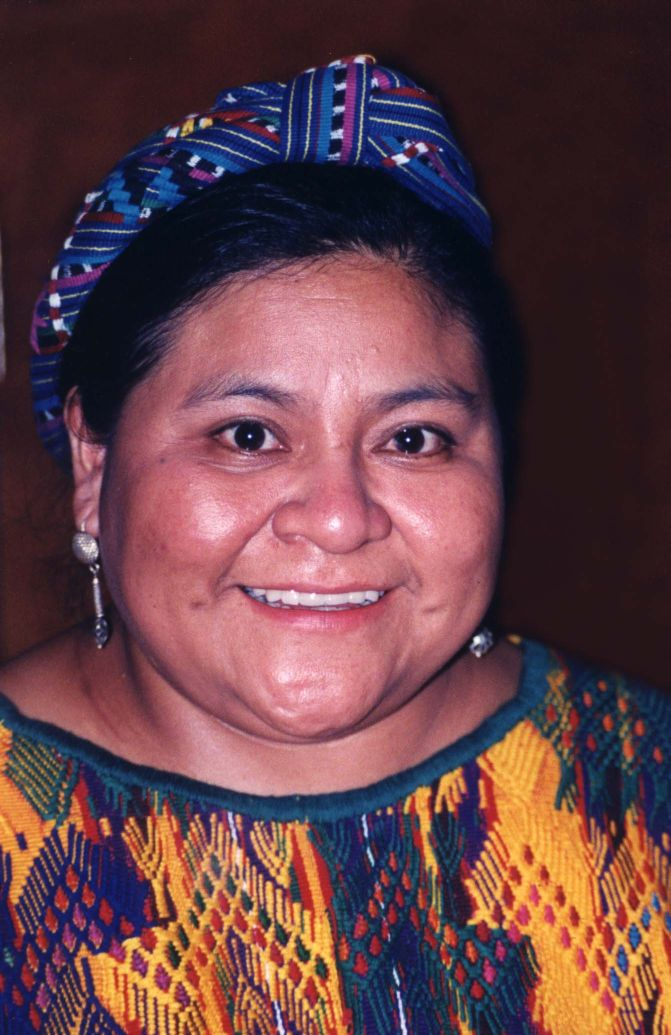 Menchú in 1998