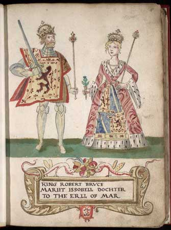 Robert Bruce and Isabella de Mar