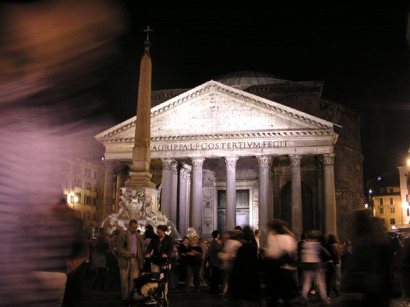 by night al Pantheon, buonanotte! dans Roma Rome_White_Night_by_jmx