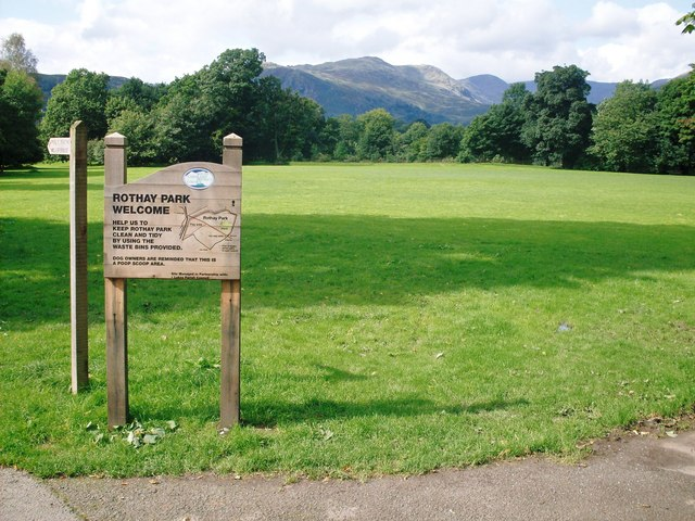 Rothay Park in Ambleside - geograph.org.uk - 945428