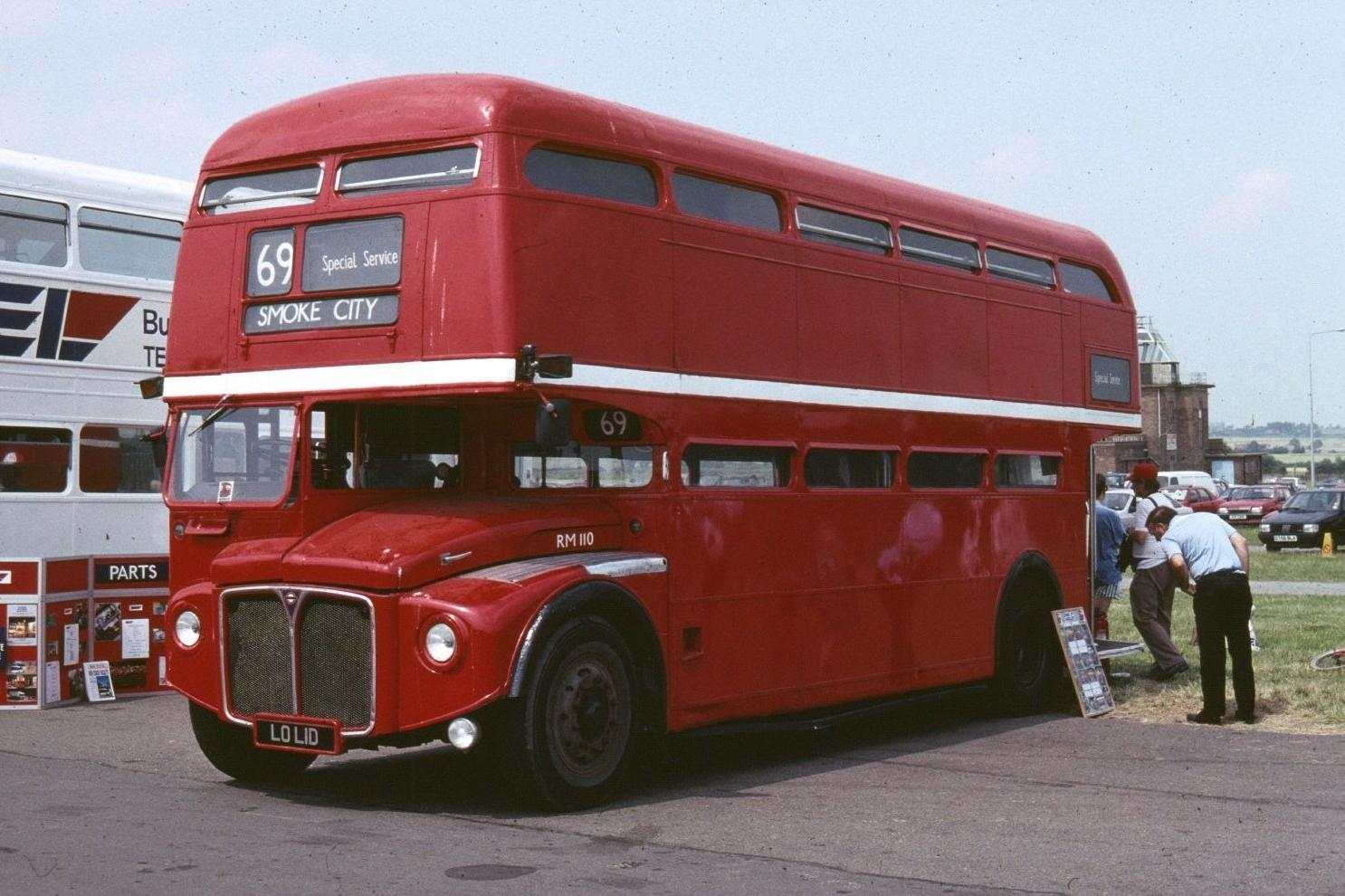 File Routemaster Rm110 Lo L1d Showbus 1989 1 Jpg Wikimedia Commons