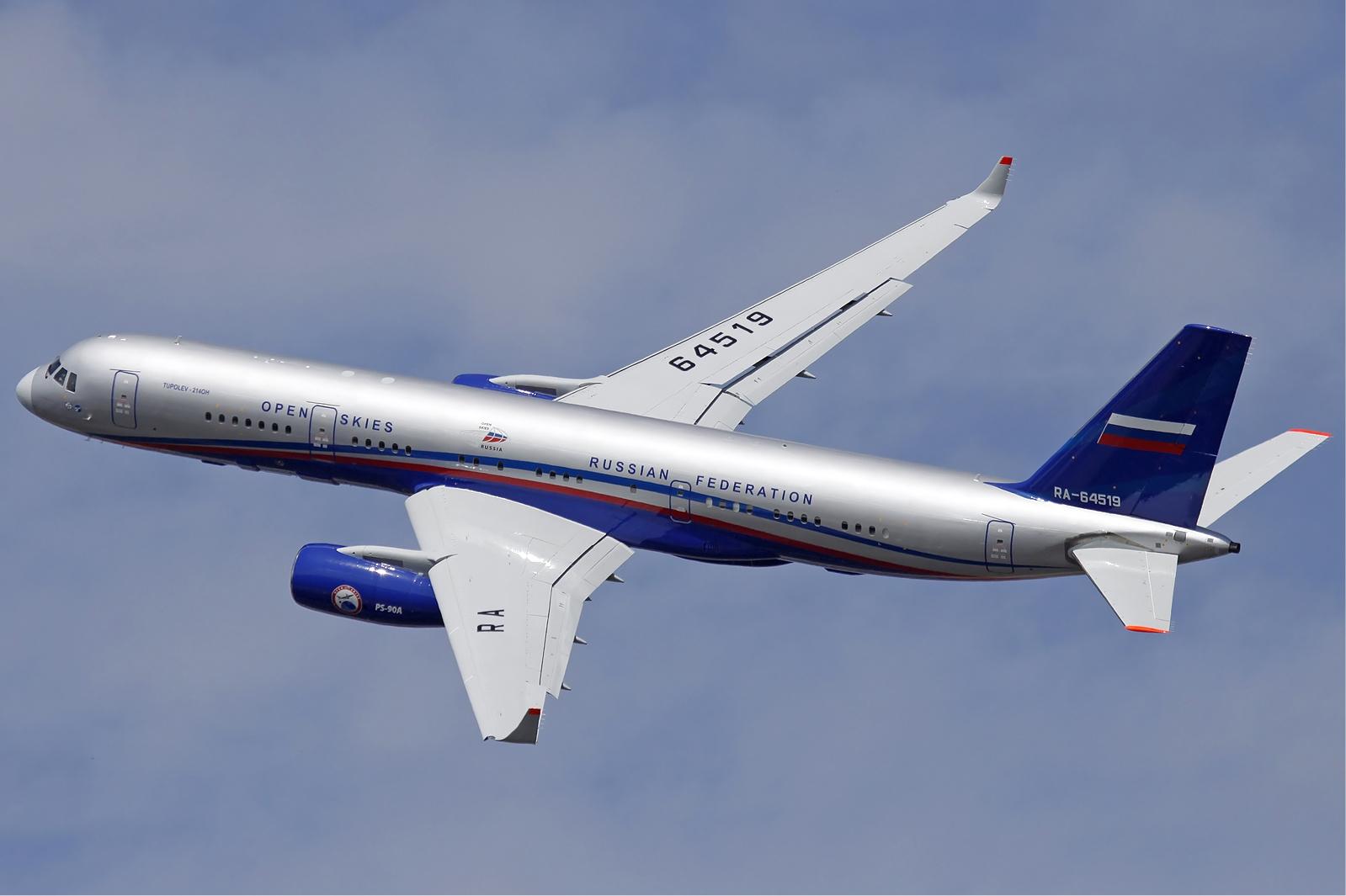 Resultado de imagen de Tu-214ON,