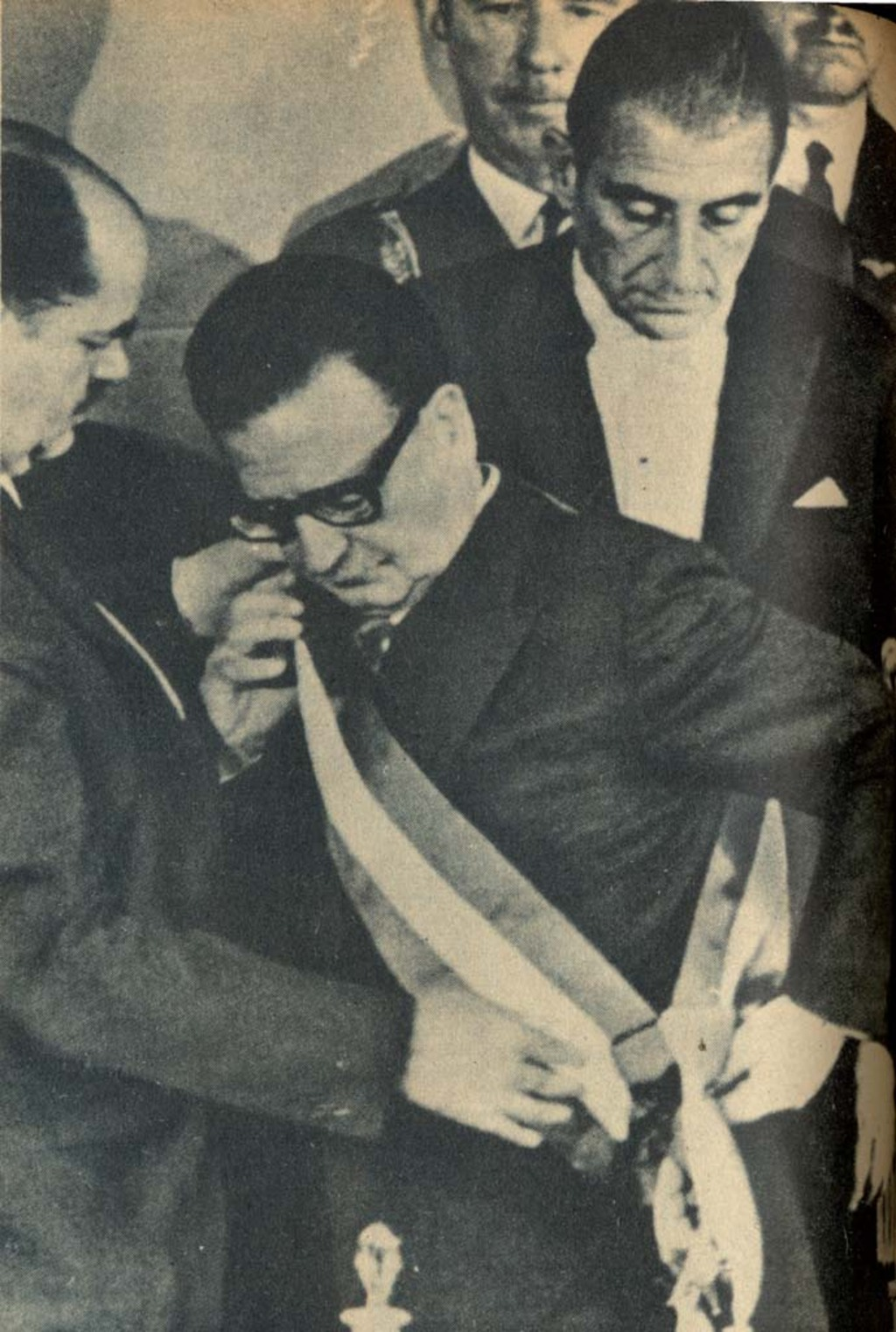 Salvador Allende eletto presidente