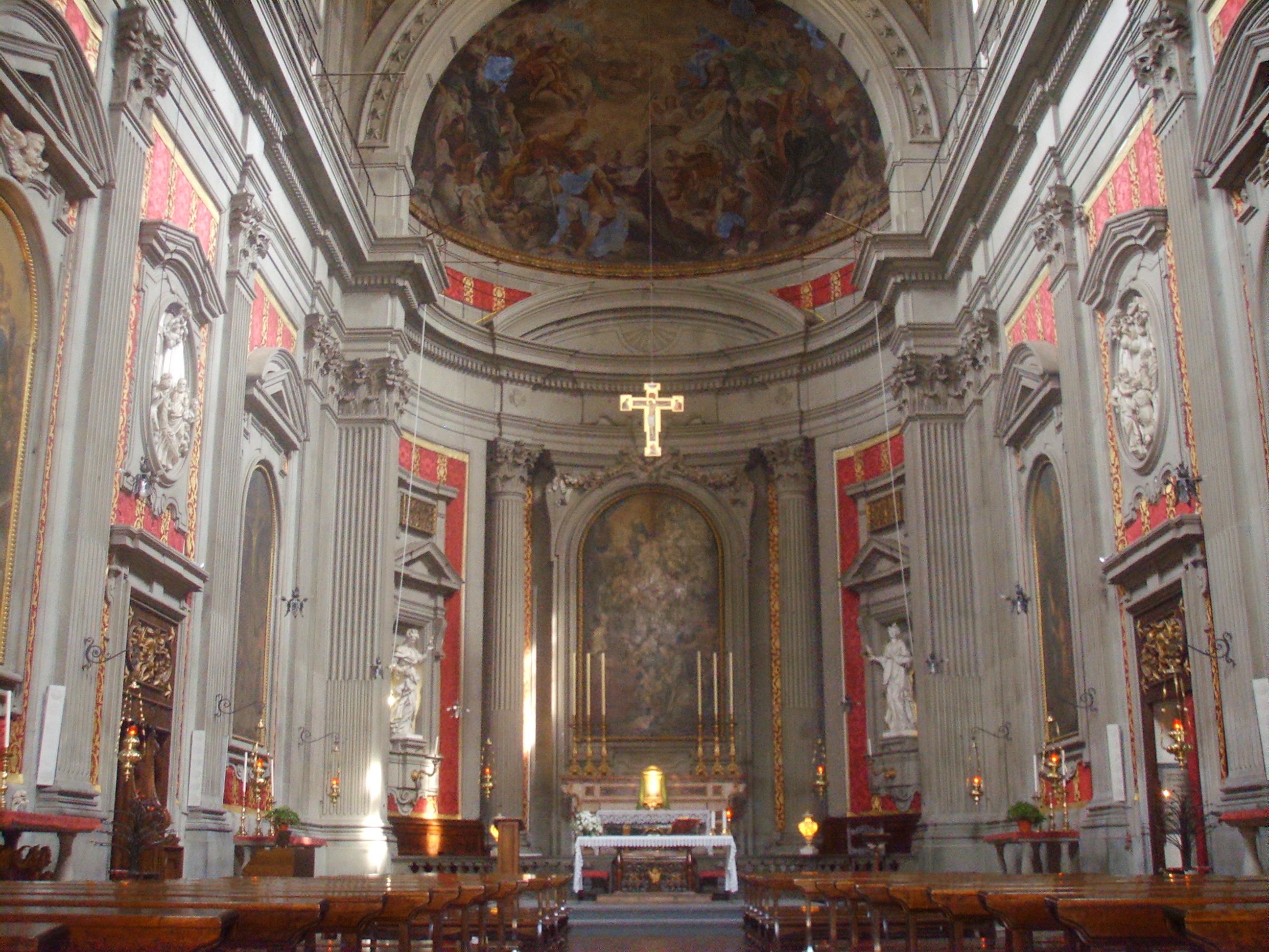 File San Filippo Neri Interno Jpg Wikimedia Commons