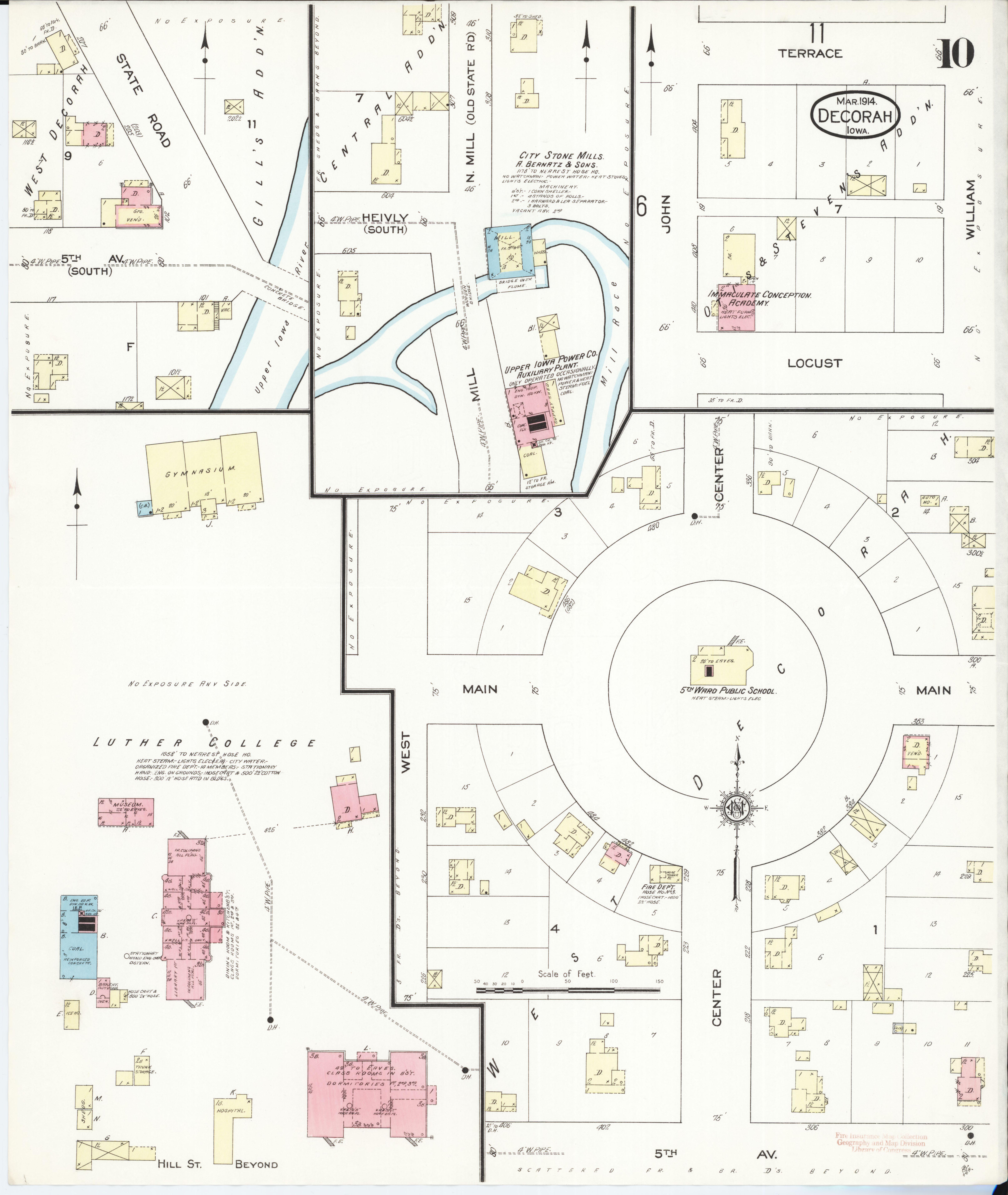 File Sanborn Fire Insurance Map From Decorah Winneshiek County