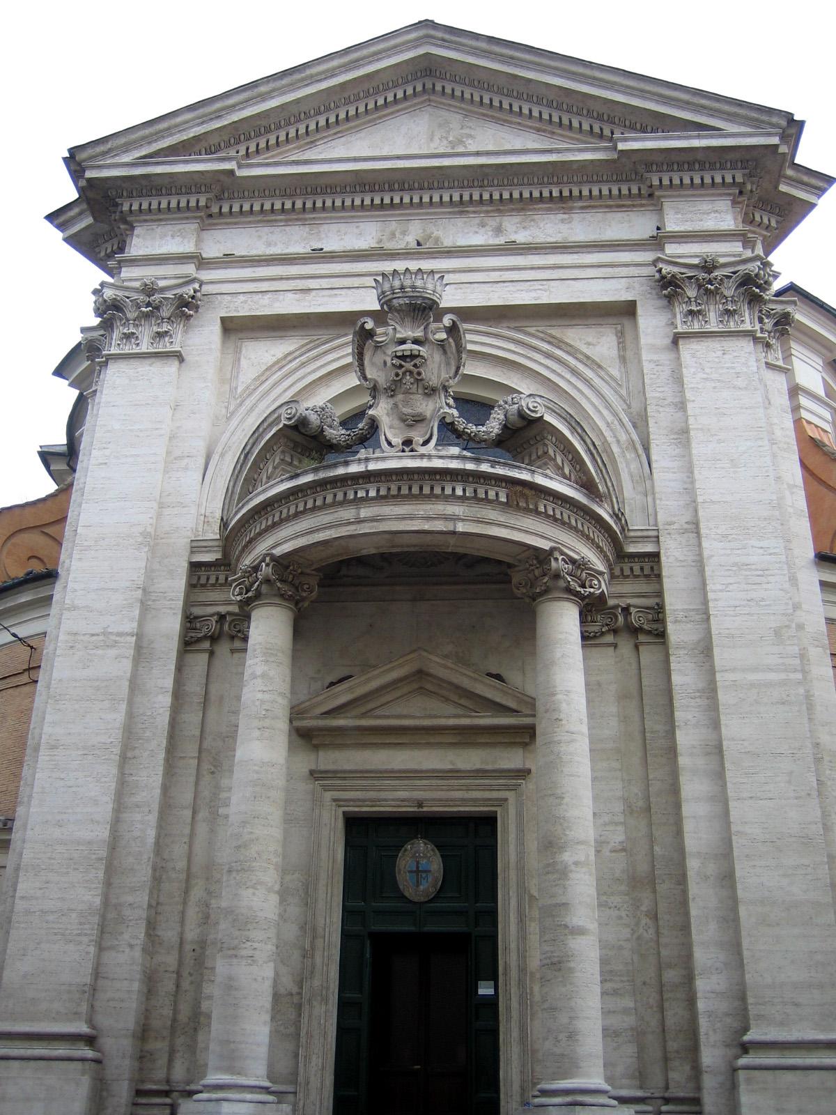File:Sant'Andrea al Quirinale - facade.jpg - Wikimedia Commons