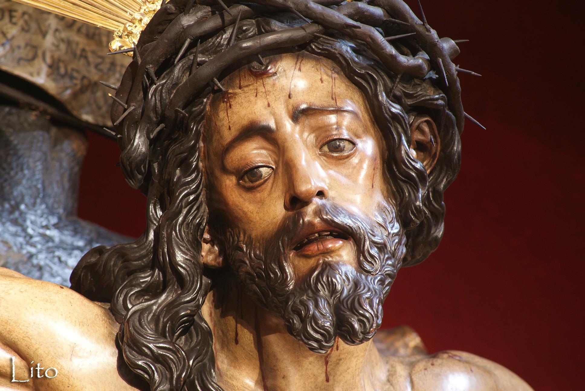 Resultado de imagen de Cristo del Buen Ladrón conversion