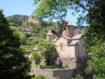 Sapara monastery 1