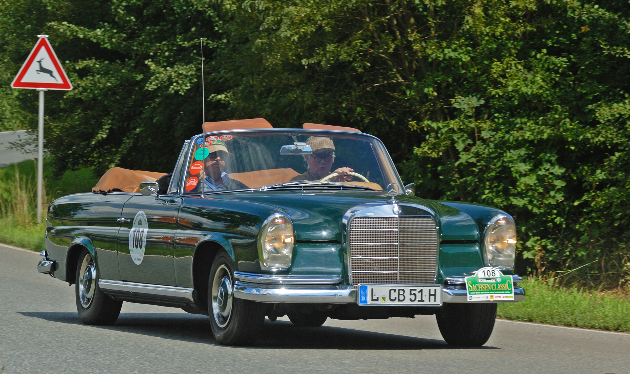 File saxony classic rallye 2010 mercedes benz 220 seb for Rally mercedes benz
