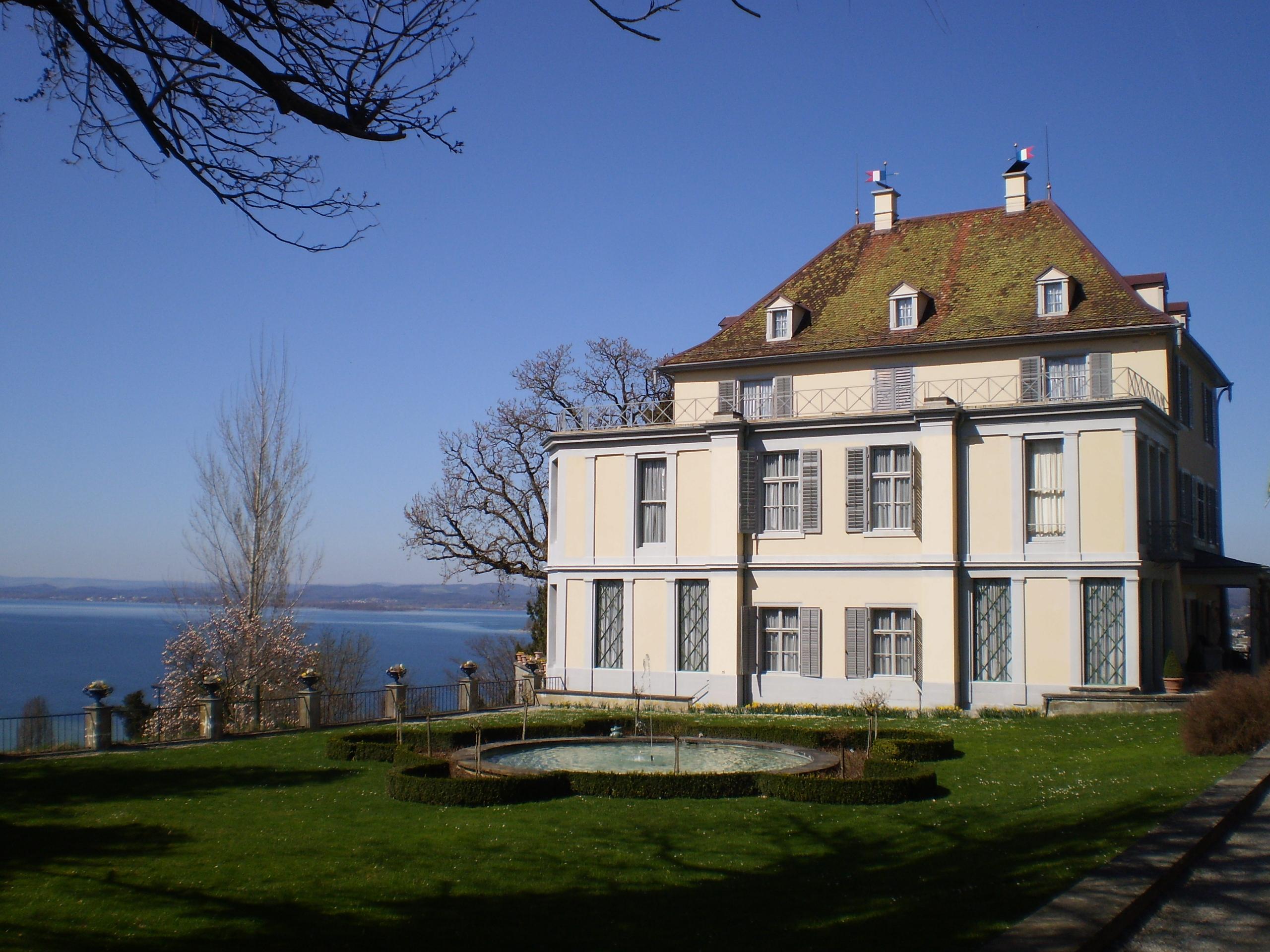 Schloss Arenenberg mit Kapelle und Napoleonmuseum