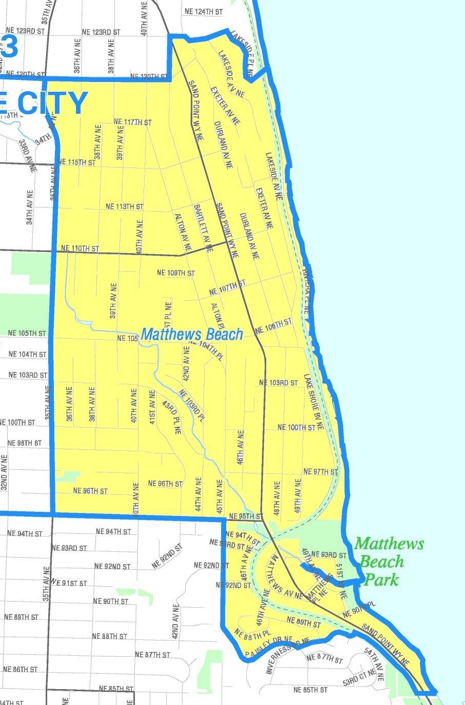 File Seattle Matthews Beach Map Jpg