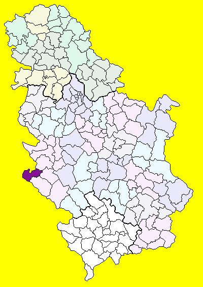 karta srbije priboj Priboj (općina) – Wikipedija karta srbije priboj