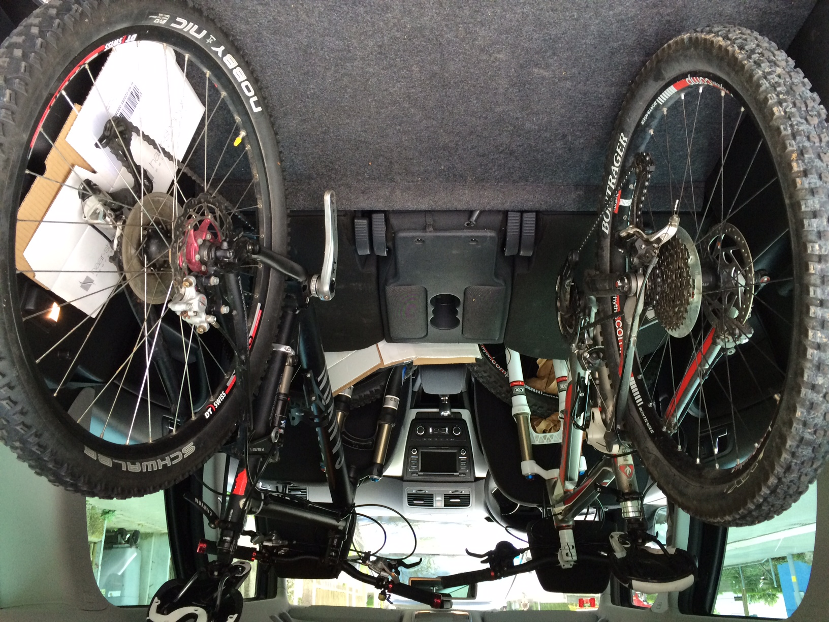 Mountain Bike Car Parking Rugelely Leisure Centre