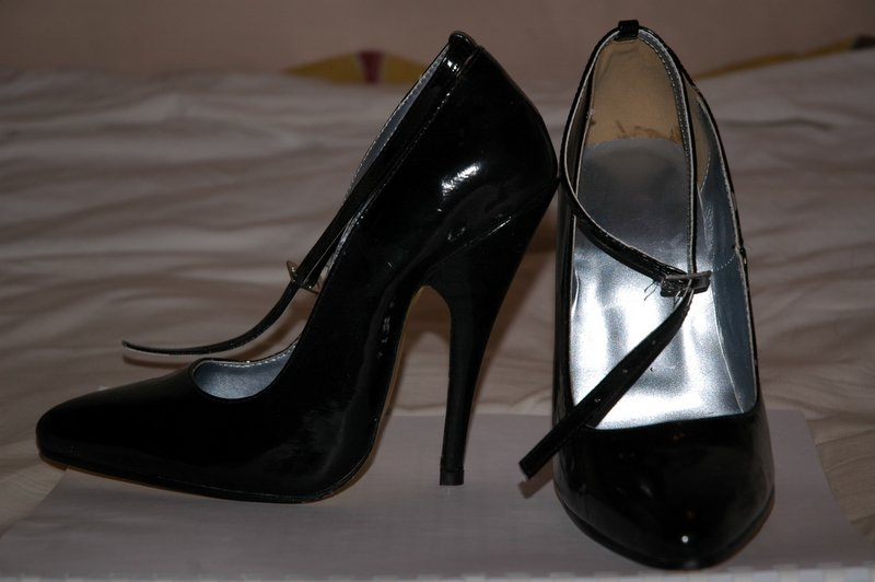 High Heeled Shoe From Behind