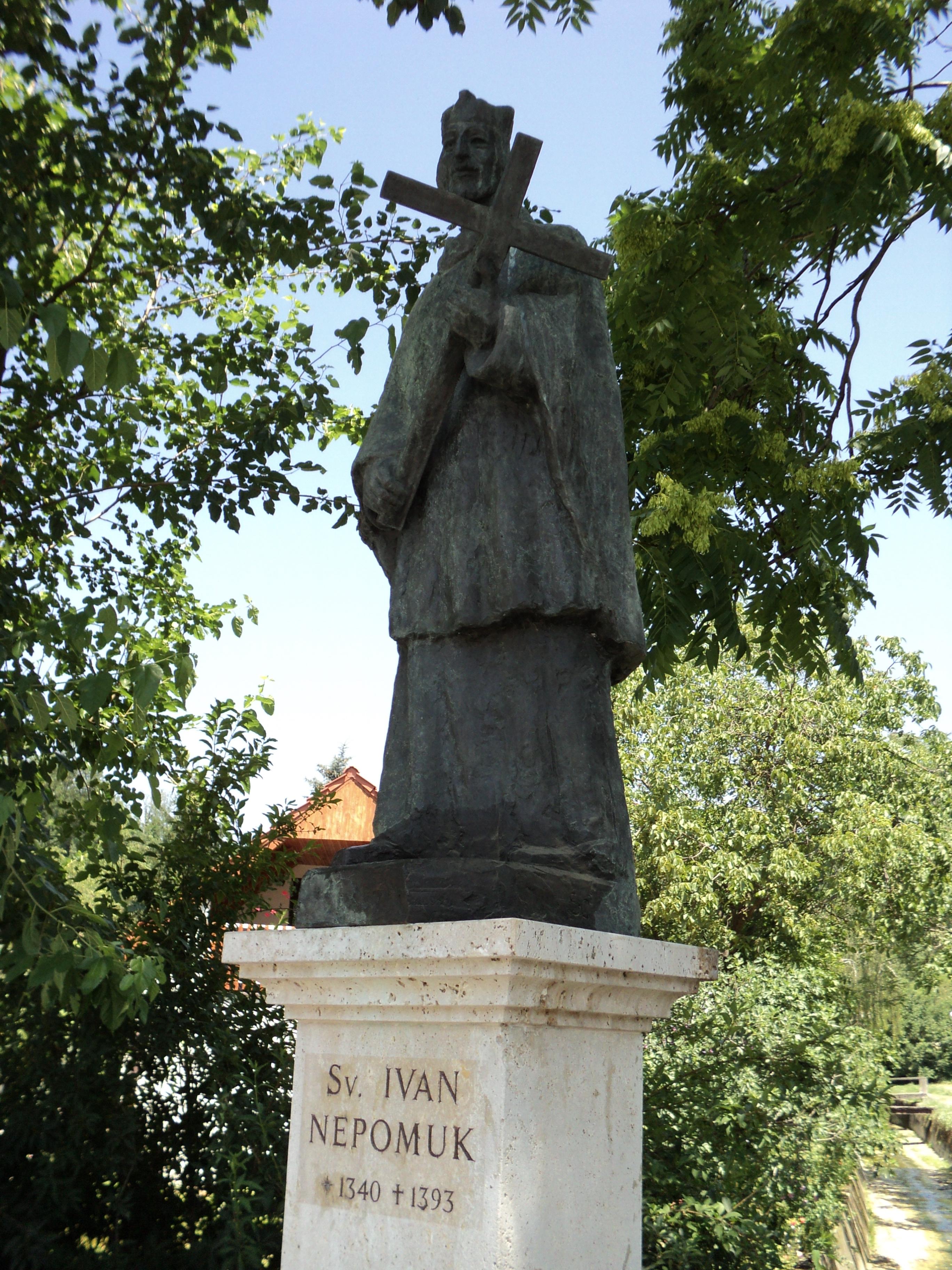 File Sv Ivan Nepomuk Podsused Jpg Wikimedia Commons