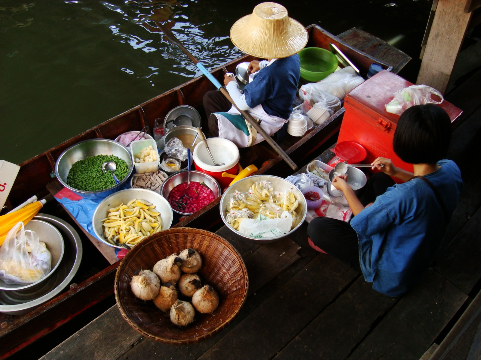 File:Taling Chan Floating Market in Taling Chan District, Bangkok ...