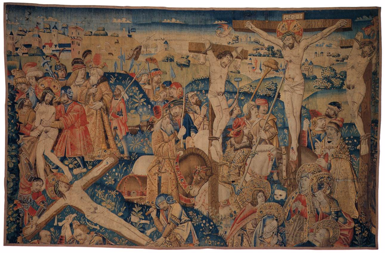 FileTapestry with Scenes from the Passion of