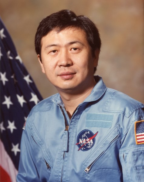 Astronaut Taylor Wang, NASA photo ID: S84-36141 (20 June 1984)Source: Wikipedia (www.jsc.nasa.gov page unavailable June 2019) Taylor_Wang_-_full.jpg