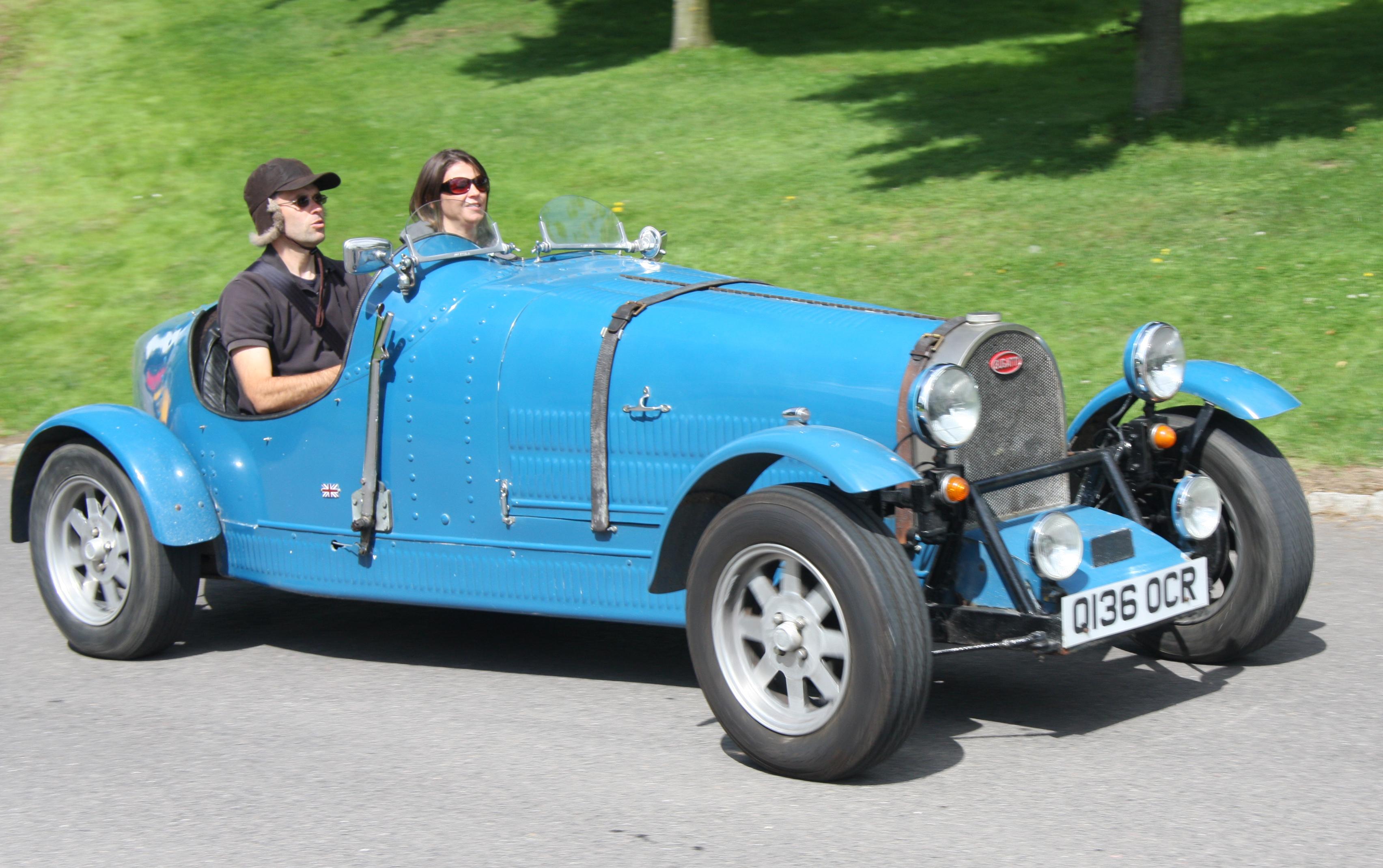 File Teal Bugatti Replica Flickr Exfordy Jpg