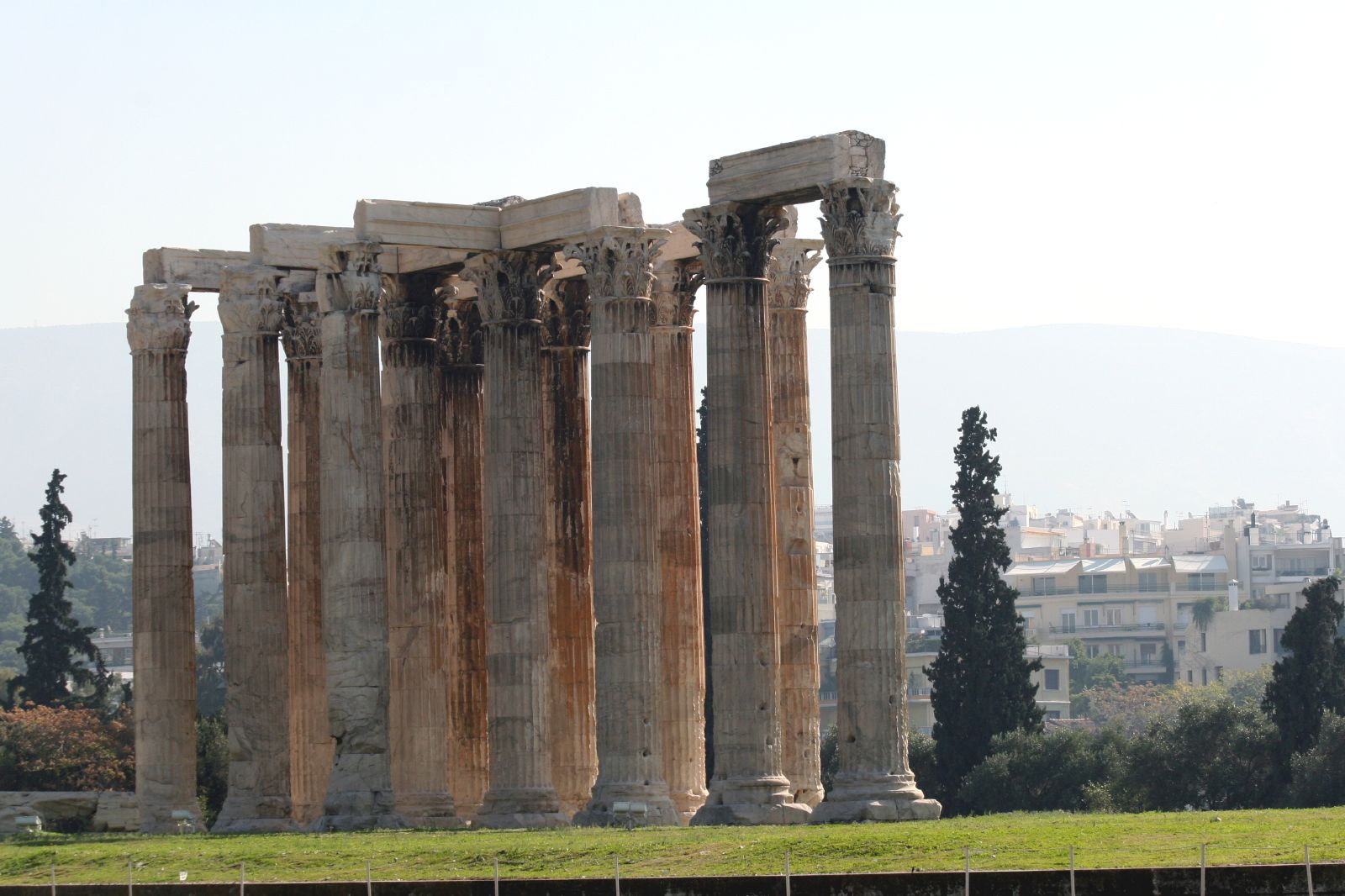 File:Temple of Olympian Zeus also known as the Olympieion.jpg
