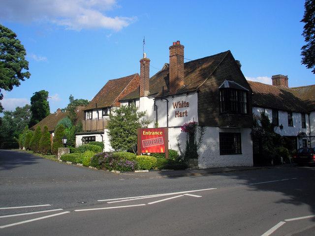 The 'White Hart', Godstone, Surrey - geograph.org.uk - 880484