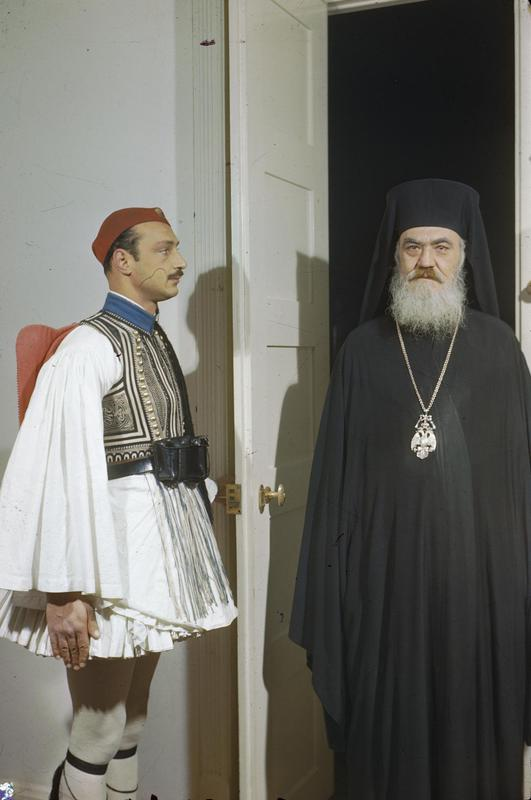 File:The Archbishop Regent Damaskinos of Greece, 15 February 1945  TR2762.jpg - Wikimedia Commons