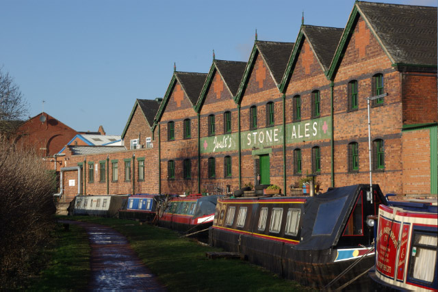 Trent and Mersey Canal, Stone - geograph.org.uk - 1134904