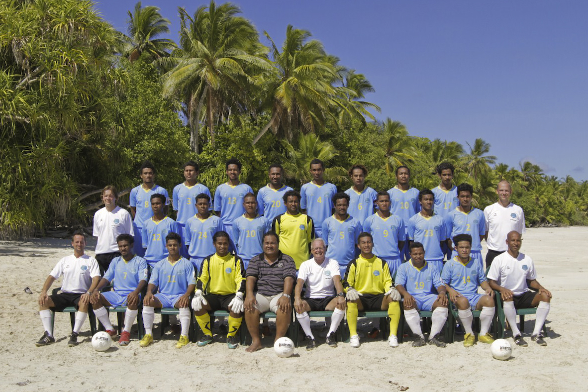 Tuvalu national football team 2011