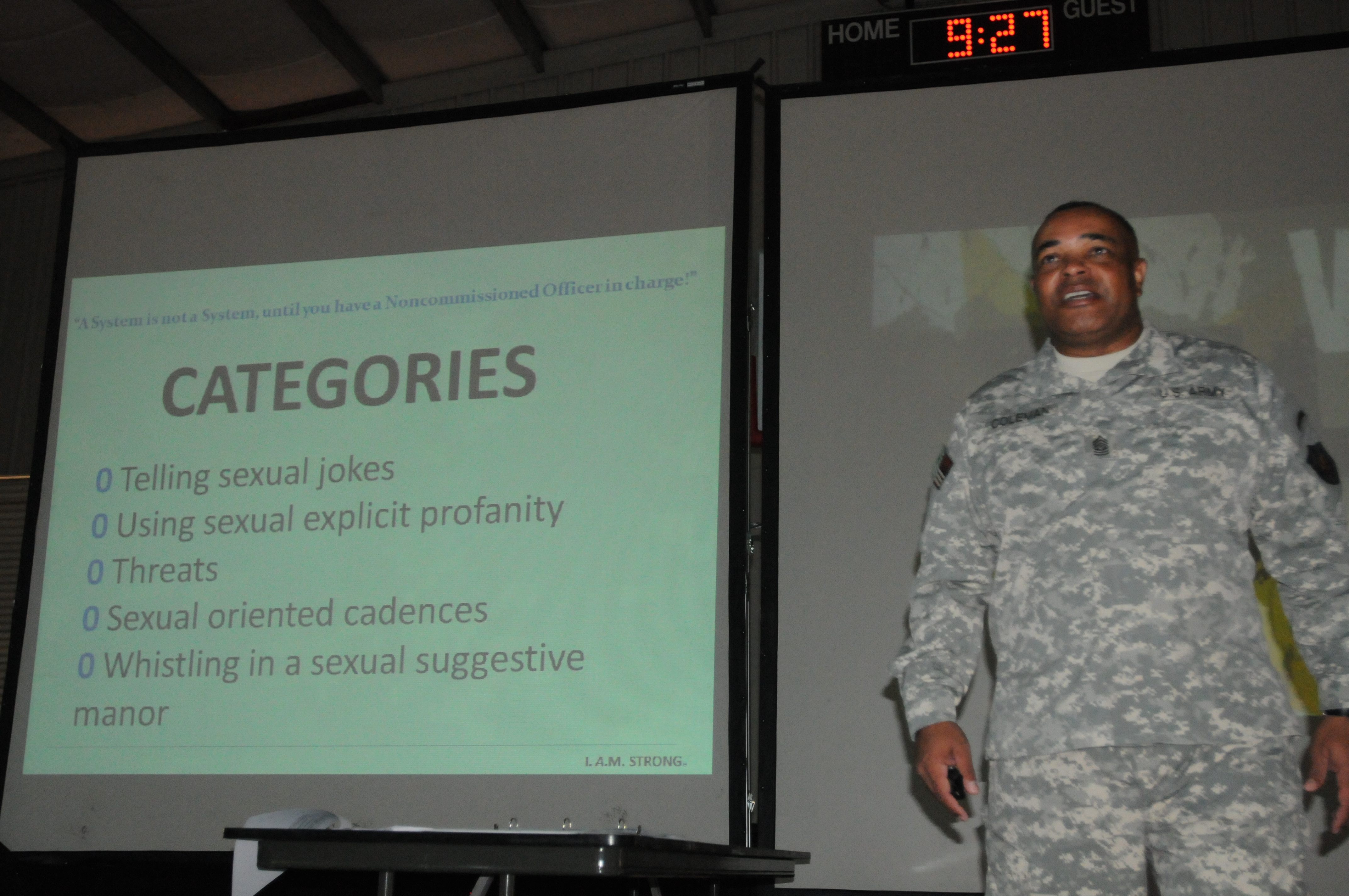 File:U.S. Army Command Sgt. Maj. Arthur Coleman, the senior ...