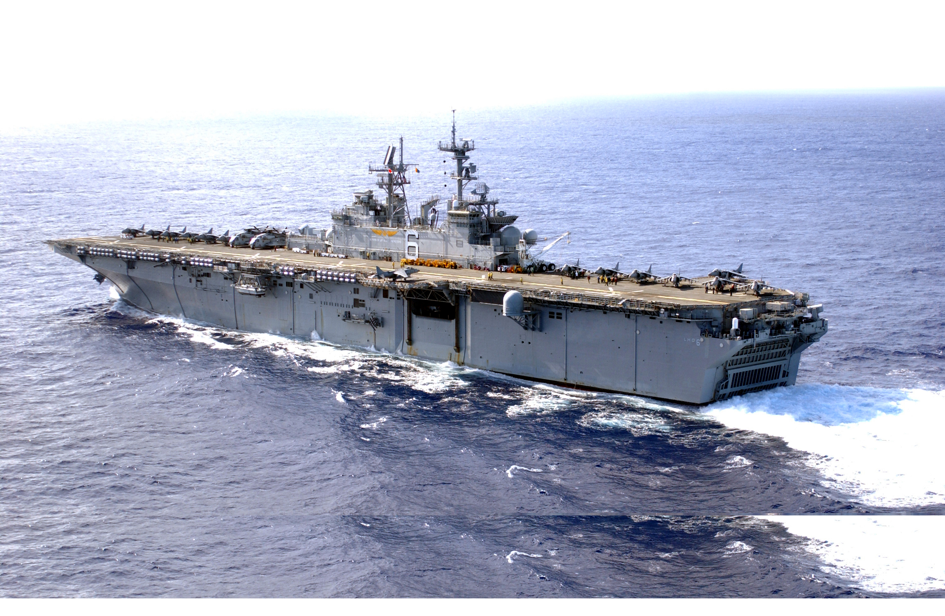 USS Bonhomme Richard (LHD-6) - Wikipedia