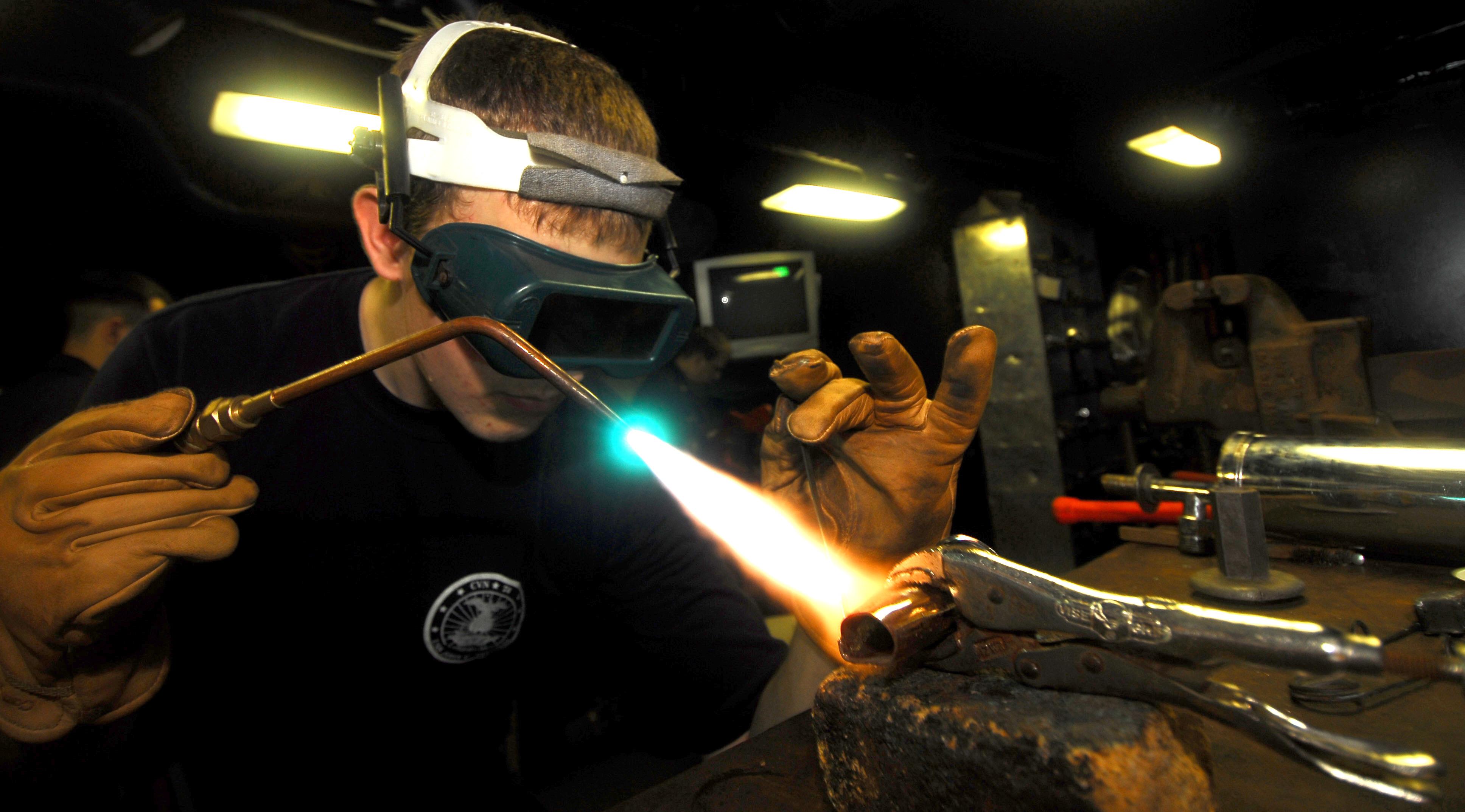 welding torch: