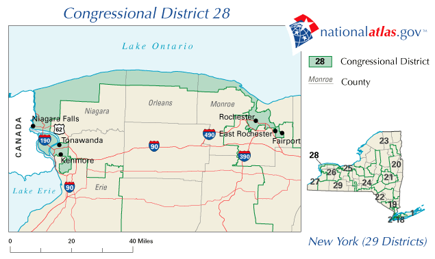 New Yorks Th Congressional District Wikipedia - Us congress ny 25th district map