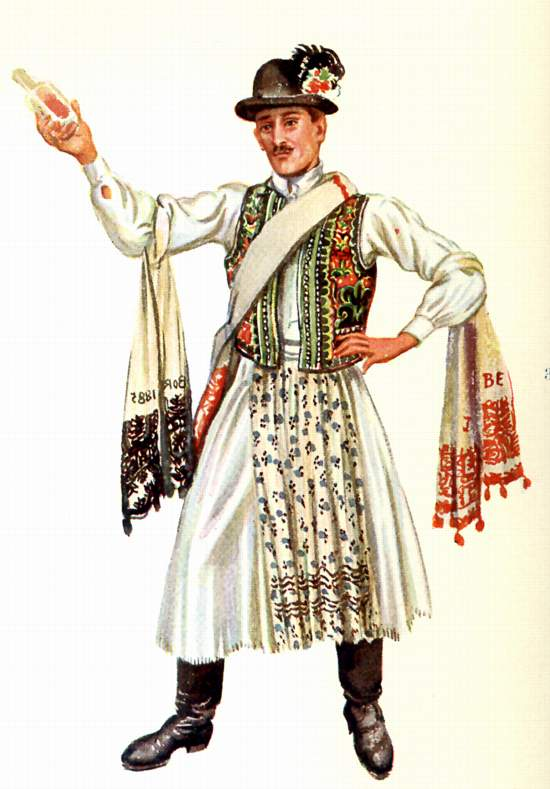 Hungary Traditional Clothing Men