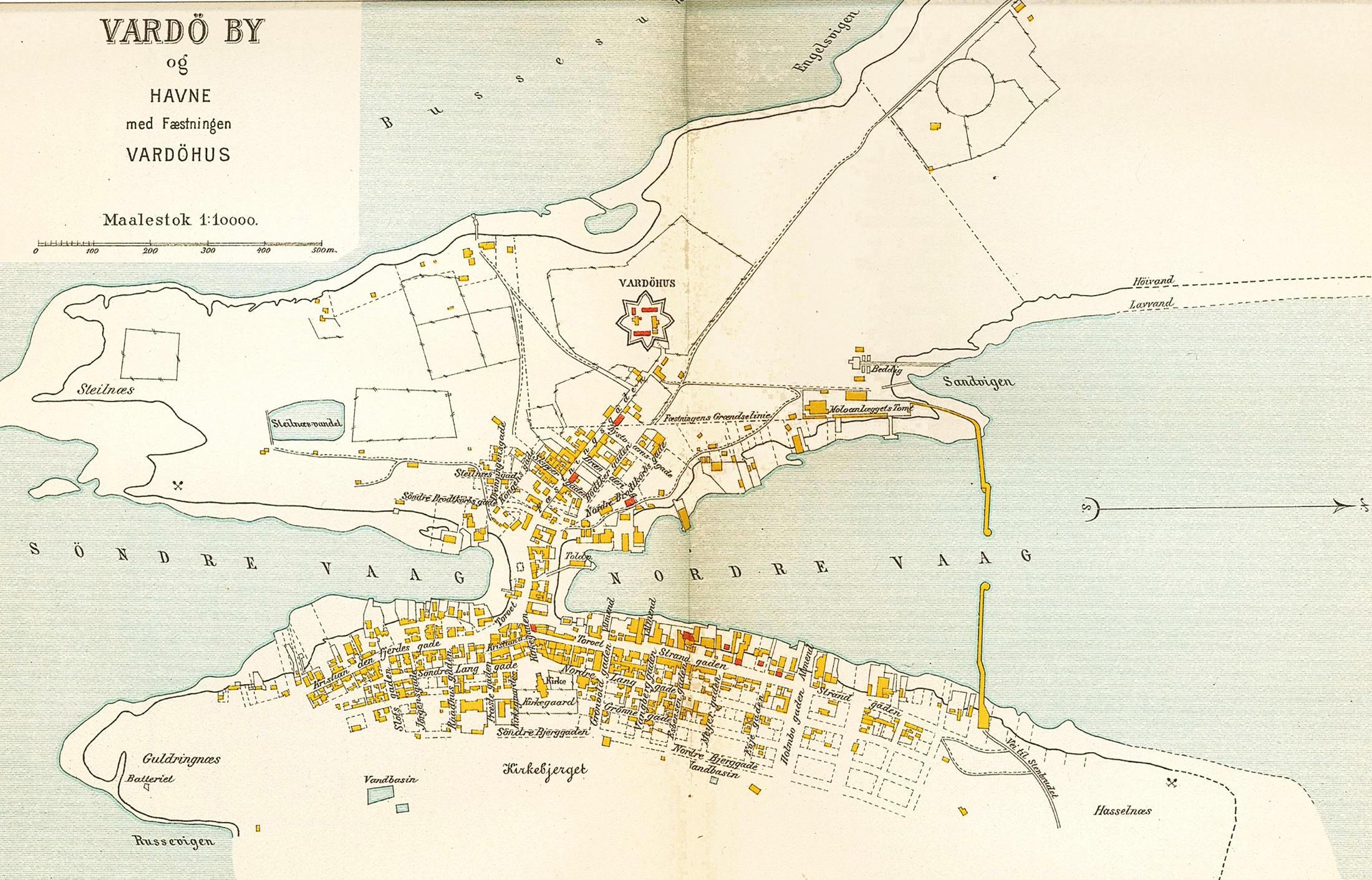 kart over vardø File:Vardø map 1905.   Wikimedia Commons kart over vardø