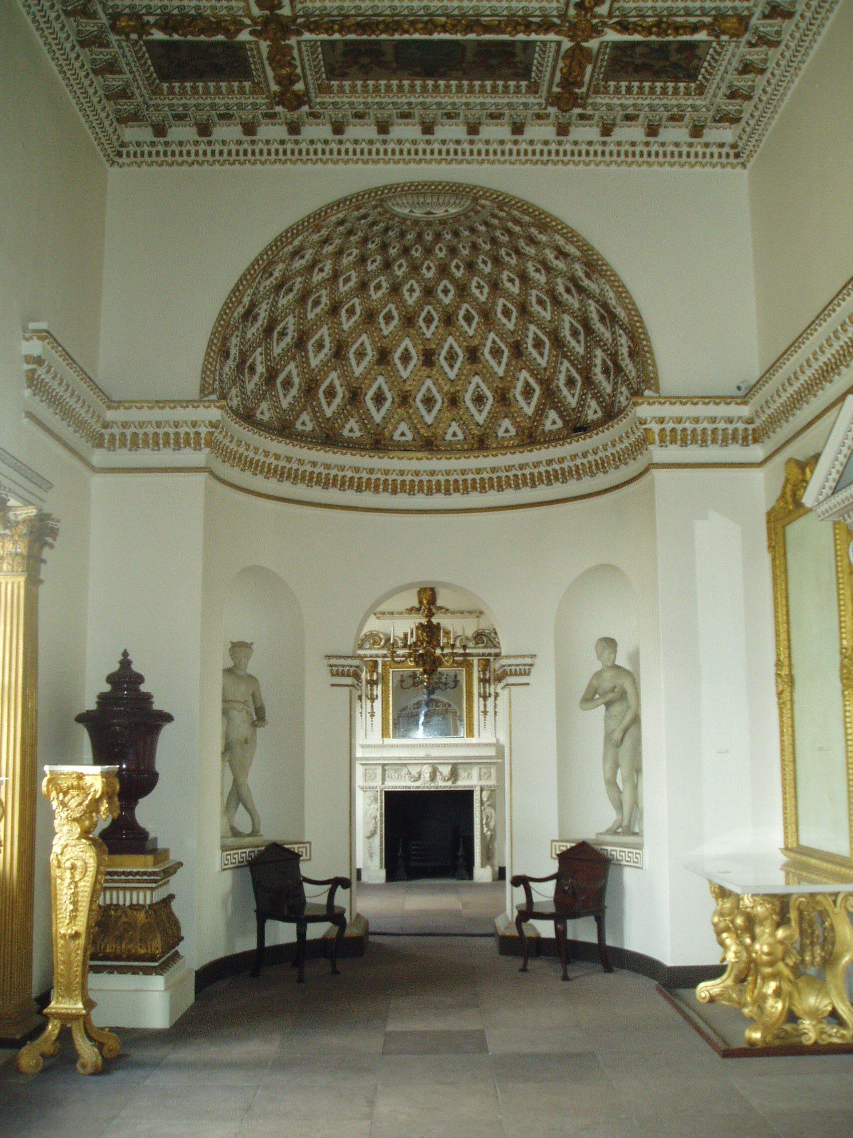 The Upper Tribune aka Domed Hall aka