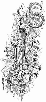 filevignette of a chippendale girandole as ornament to initial letterjpg