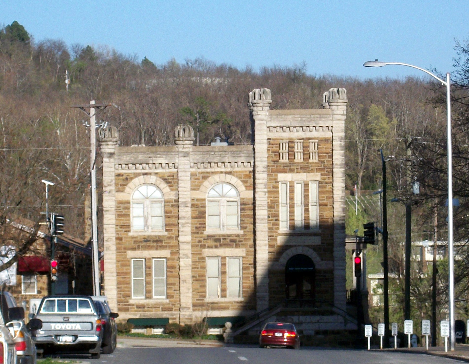 Washington County Jail (Fayetteville, Arkansas) - Wikipedia
