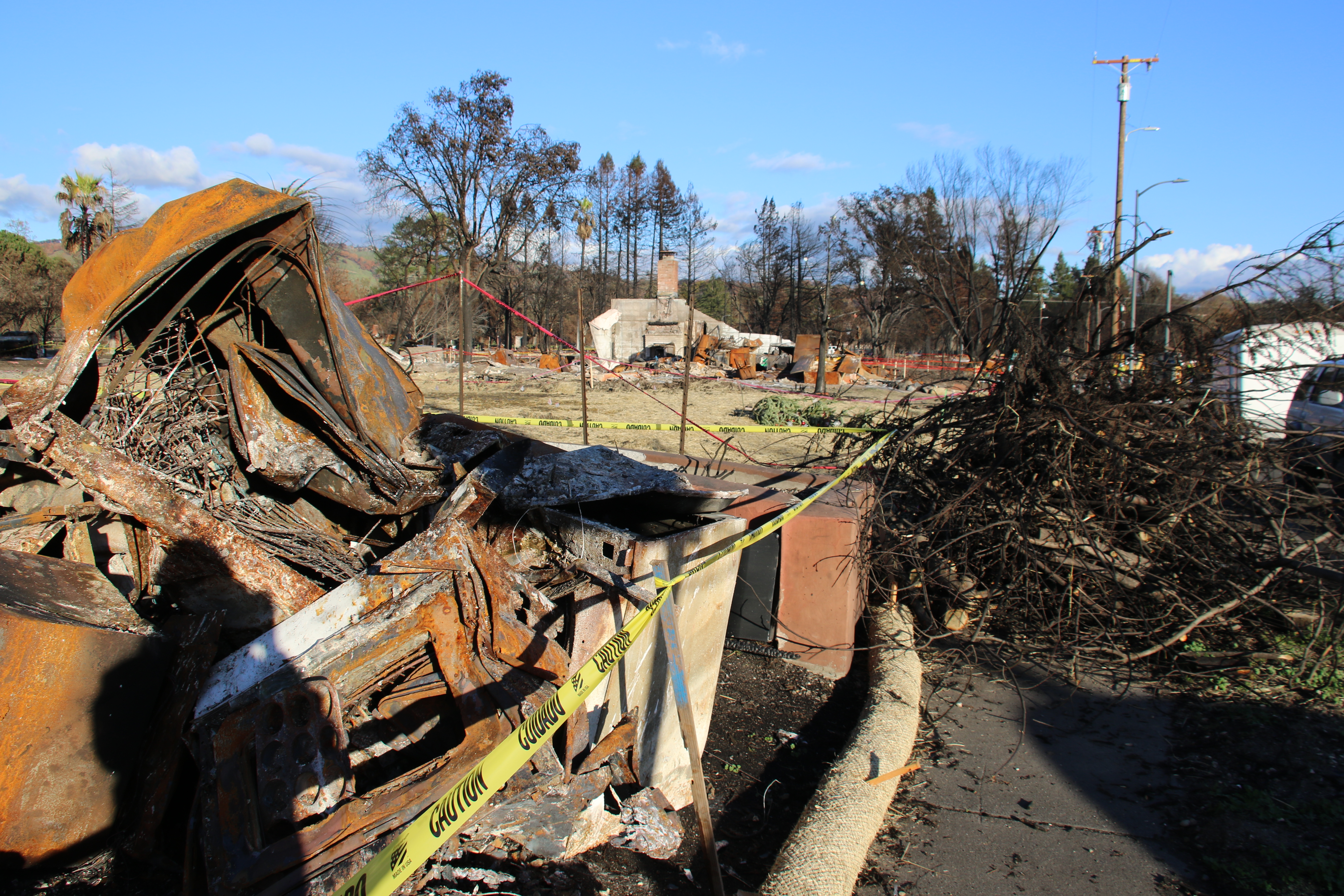 (38687921415).jpg SANTA ROSA, California - U.S. Army Corps of Engineers contractors continue to remove debris in Coffey Park neighborhood within Santa Rosa