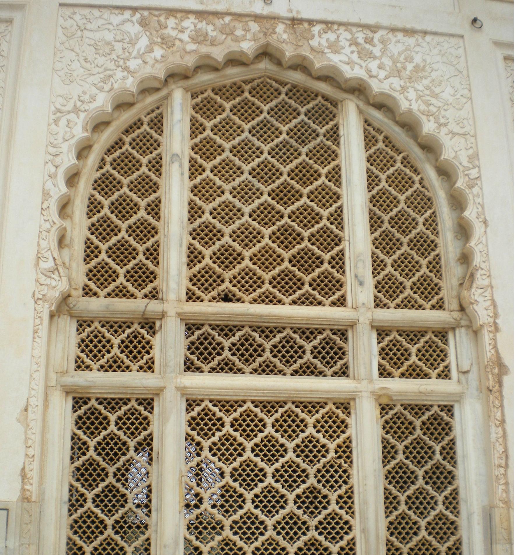 Jali at Biki ma Maqbara, Aurangabad, India.