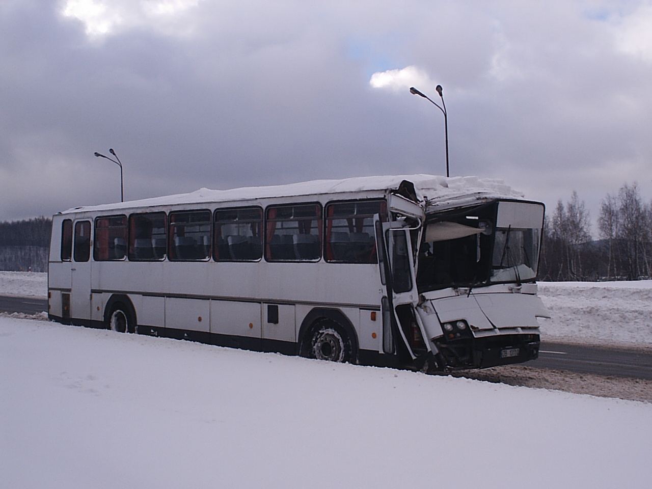 winter bus